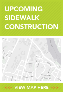 Upcoming Sidewalk Projects