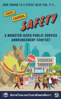 Lights, Camera, Safety PSA Contest