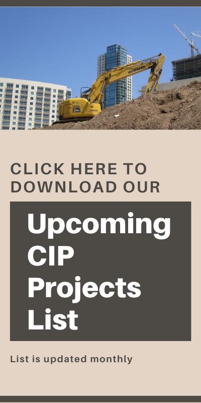 Upcoming Projects Promo bid docs page