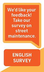 Customer Feedback Survey on Street Maintenance