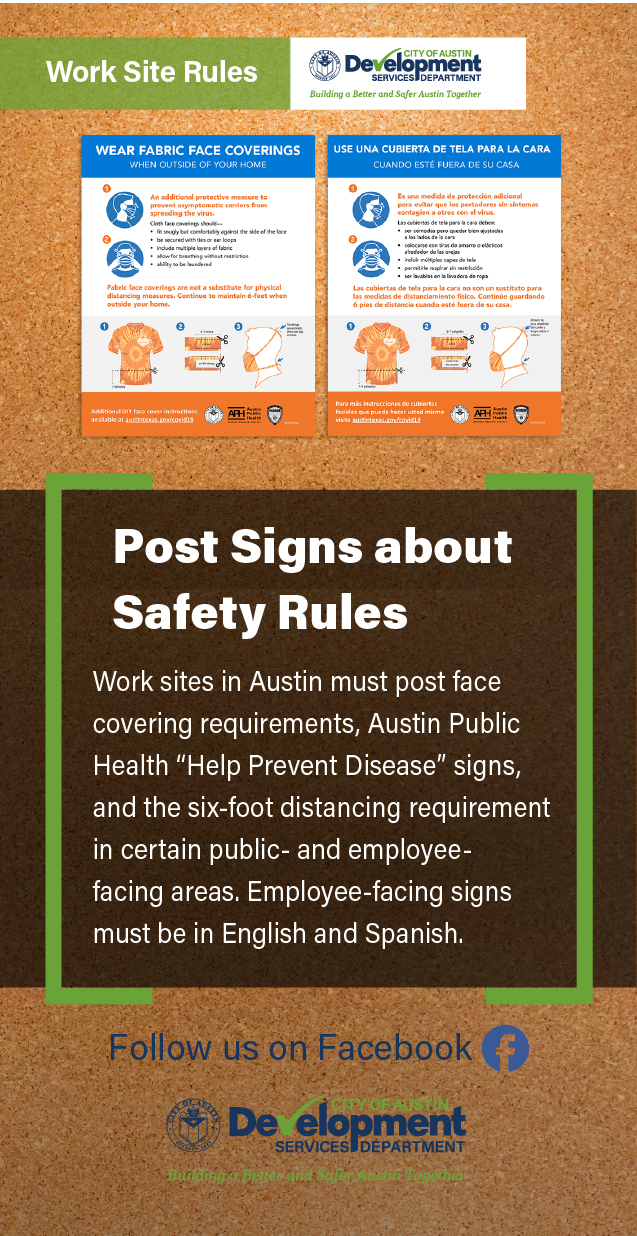 Post signs