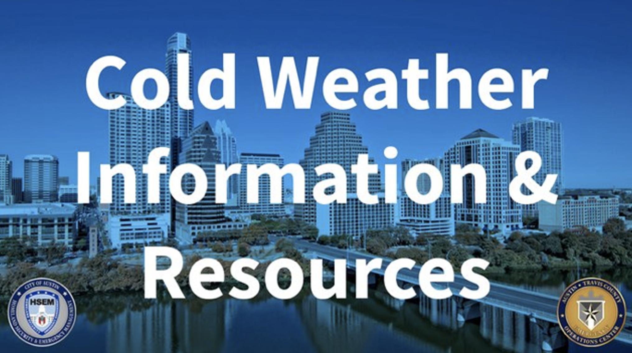 COA Cold Weather Info