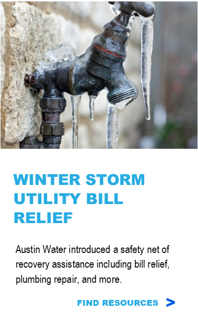 Winter Storm Utility Bill Relief