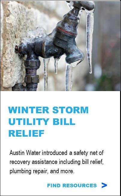 Winter Storm Utility Bill Relief