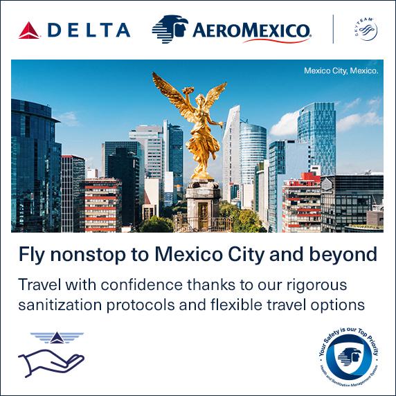Aeromexico Nonstop to Mexico City