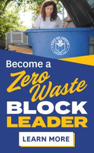 Become a Zero Waste Block Leader