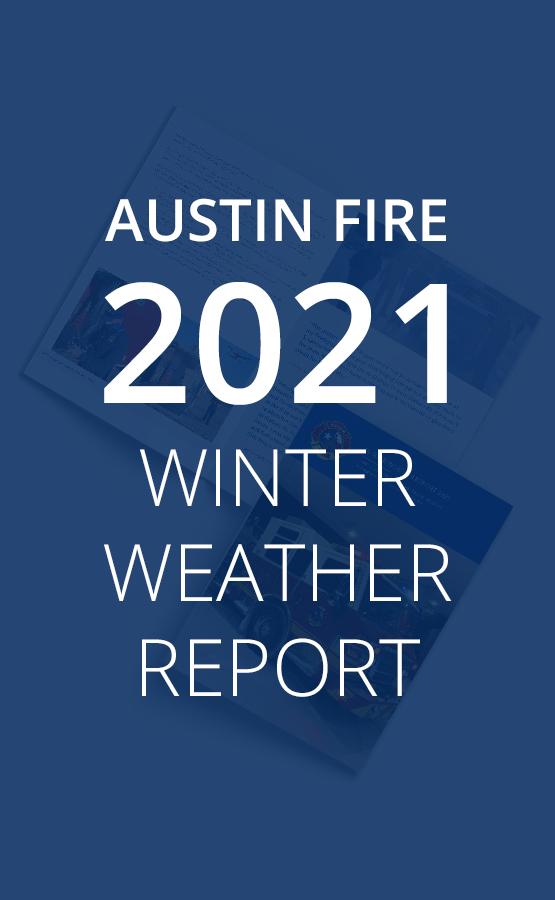 2021 Winter Weather Report