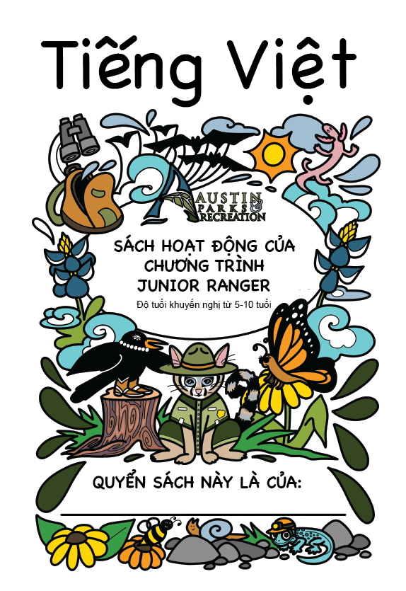 Junior Ranger Activity Book Vietnamese