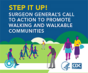 Step it Up! Help Make Our Communities Walkable.
