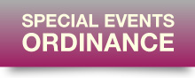 Special Events Ordinance