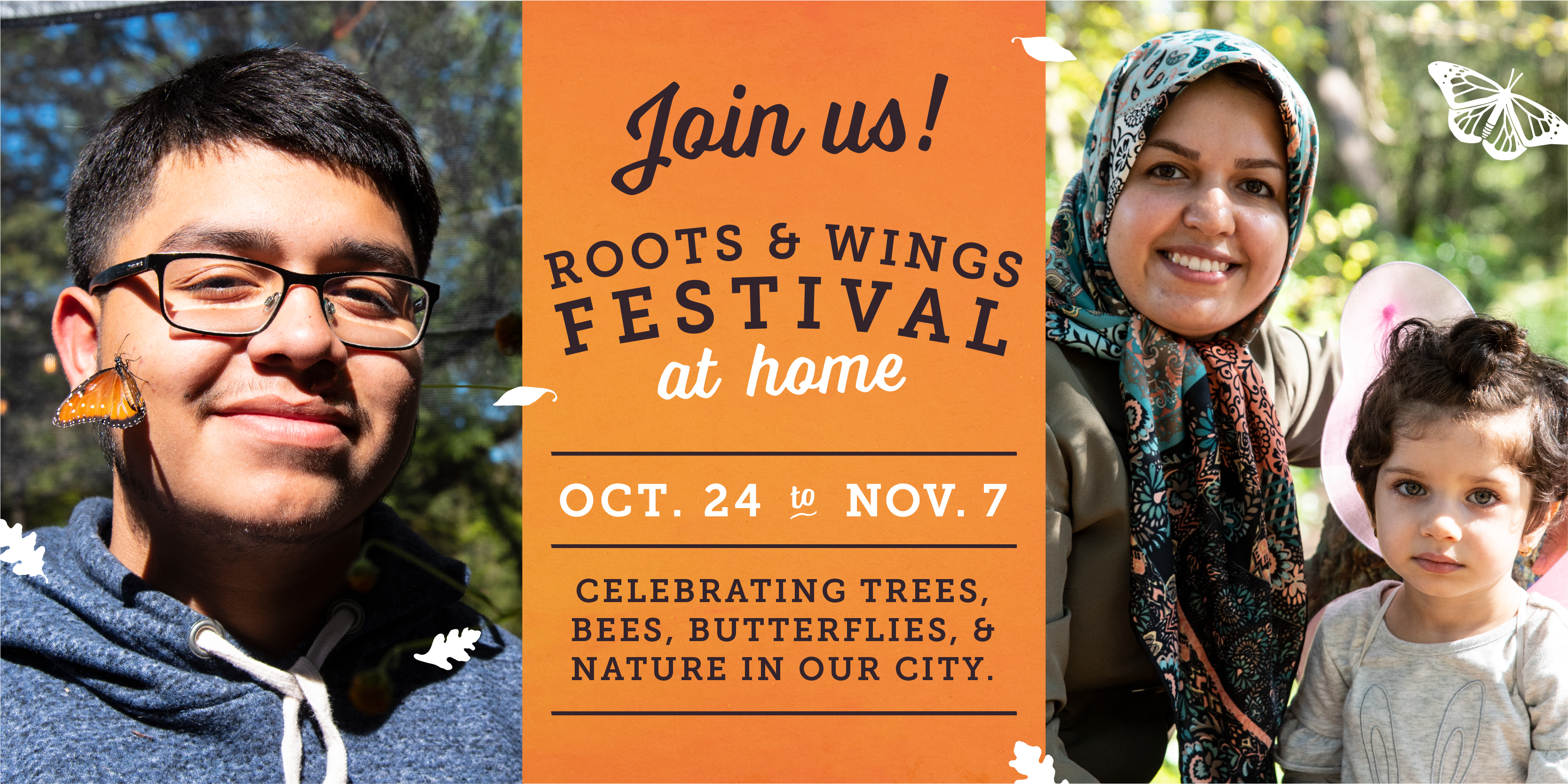 Join us at the 2020 Roots & Wings Festival. October 24 thru November 7.