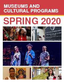 Museums and Cultural Programs Spring 2020 Brochure