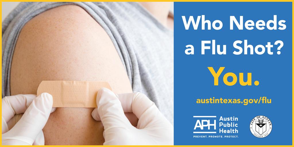 Austin Public Health Encourages Community to Get Flu Shot ...