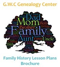 Genealogy Curriculum Brochure
