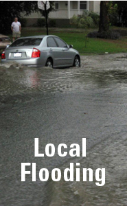 Localized Flooding