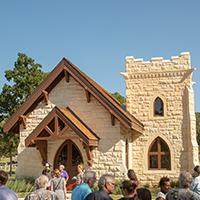 Oakwood Cemetery Chapel Image