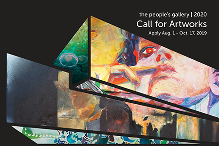 The People's Gallery 2020 Call for Artworks: Apply Aug. 1 - Oct. 17