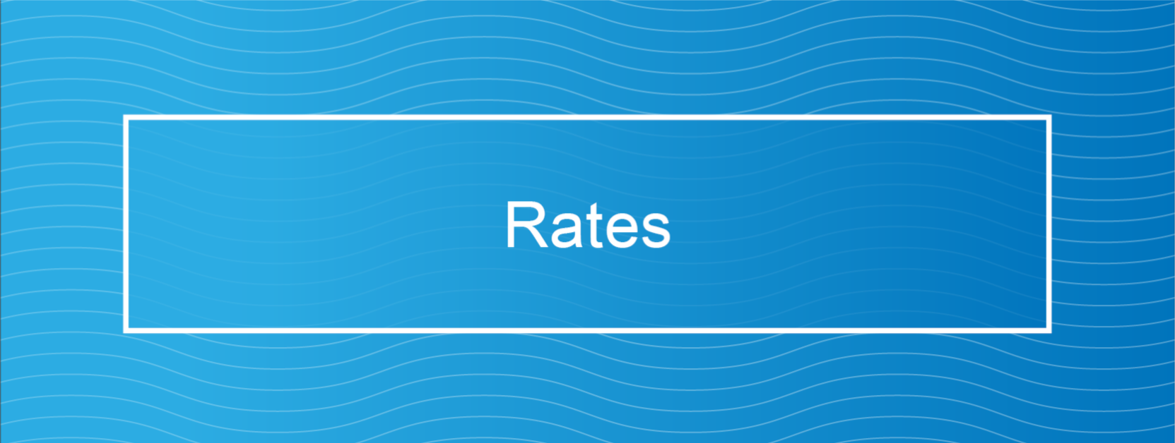 Water Services Rates