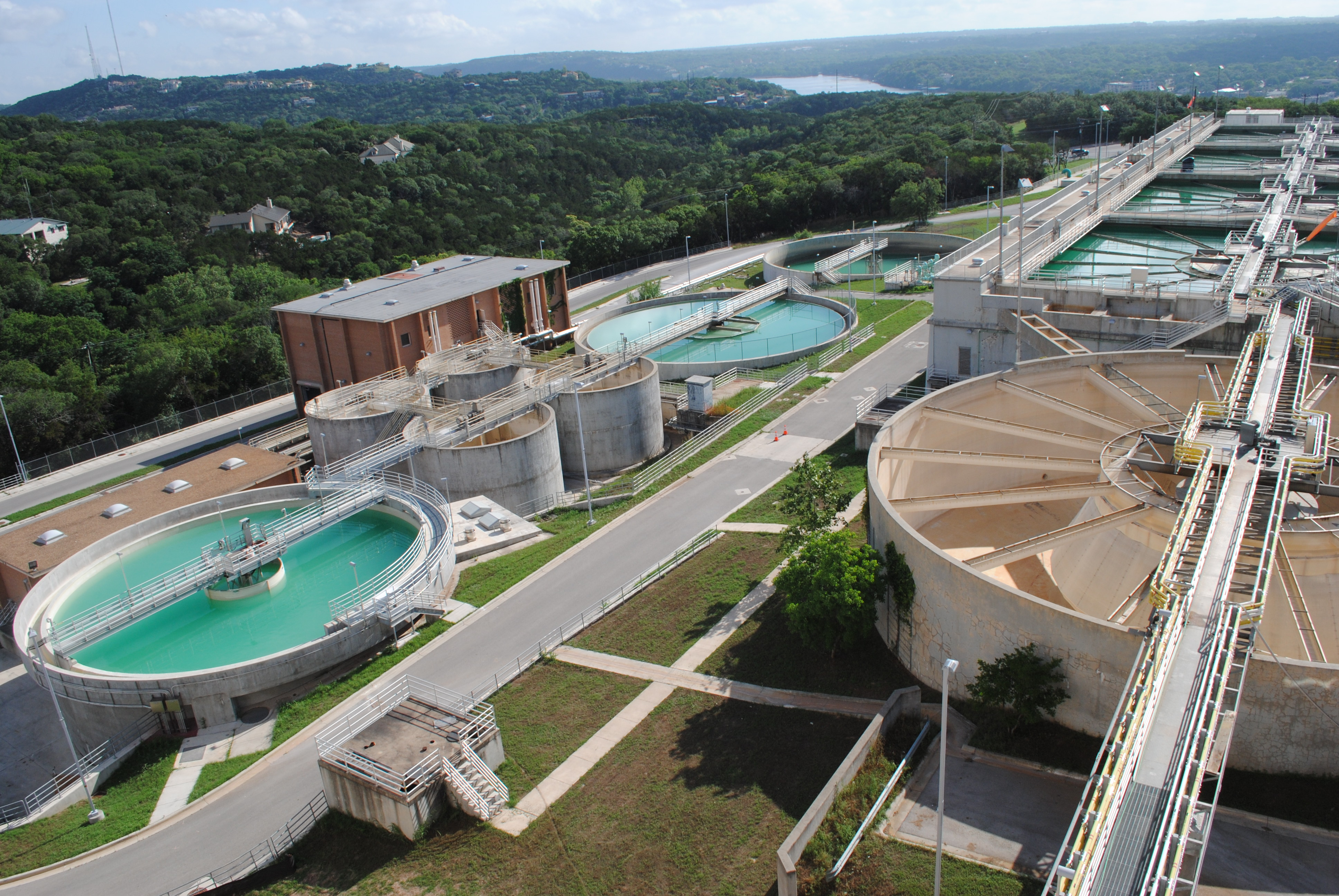 Picture of Ullrich Water Treatment Plant: Infrastructure improvements underway with new near-zero interest rate loans through the Texas Water Development Board