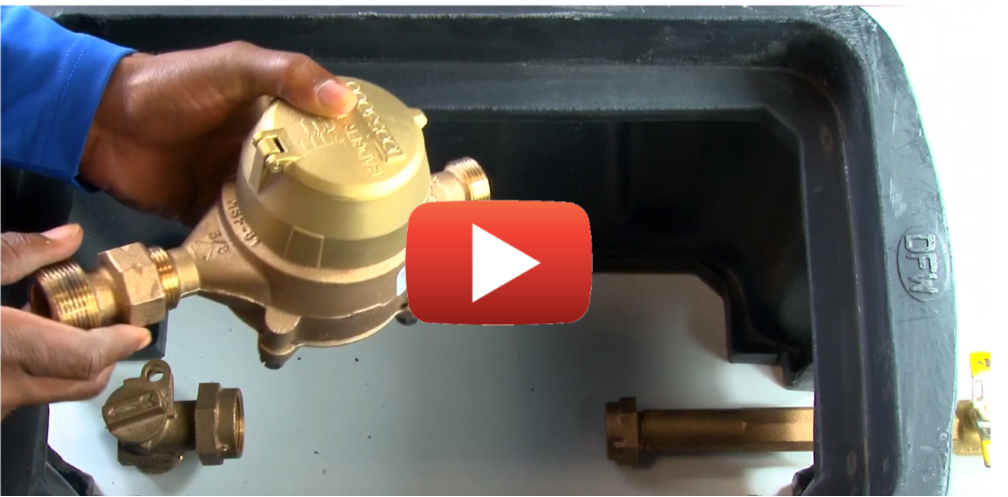 Learn How to Install a Water Meter