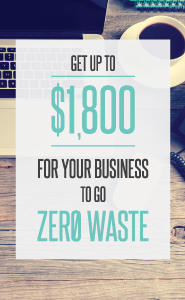 Zero Waste Business Rebate