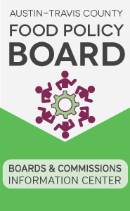 Austin Travis County Food Policy Board Boards and Commissions Info Center