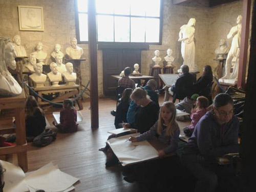 Saturday Morning Drawing Salons