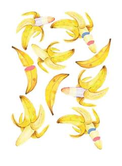 Asian American banana