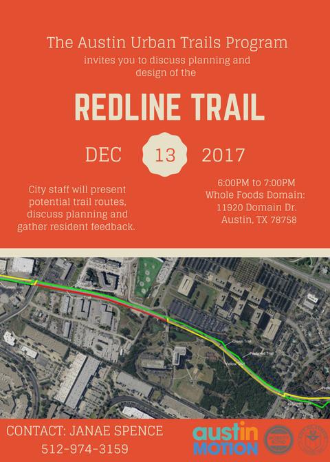 Redline Trail invitation image