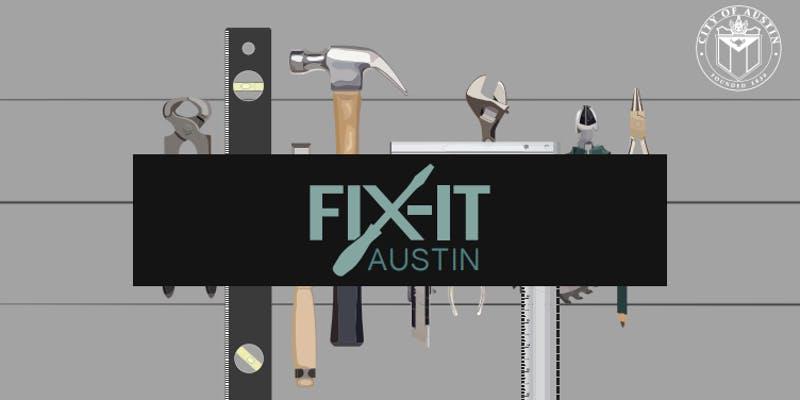 Fix-It Austin logo