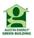 Logo for green building program
