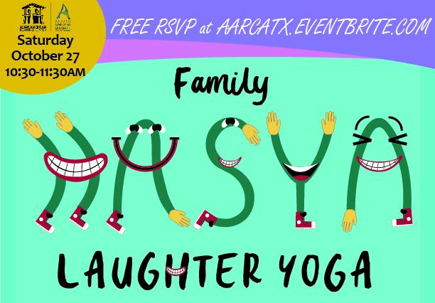 Family Hasya Laughter Yoga Banner