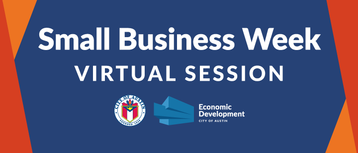 Small Business Week Virtual Session