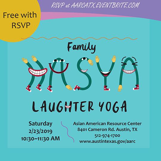 Family Hasya Laughter Yoga