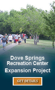 Dove Springs Recreation Center Expansion Project