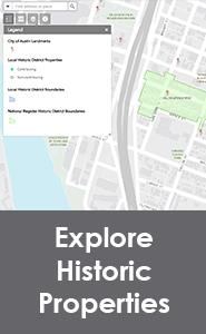 Austin Historic Properties Map