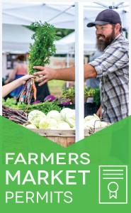 Farmers' Markets Permitting