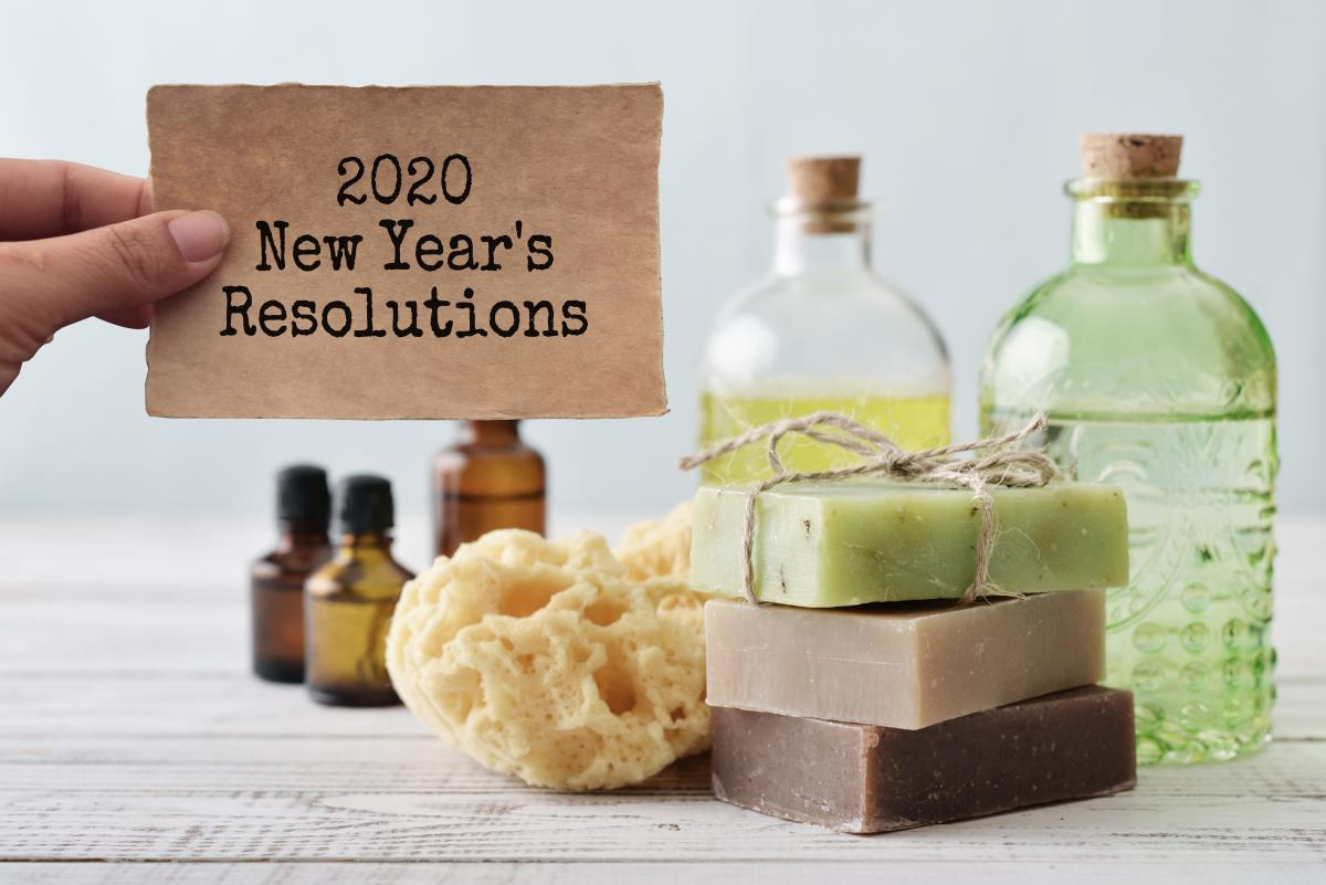"""2020 New Year's Resolutions"" with Zero waste bathrooms"