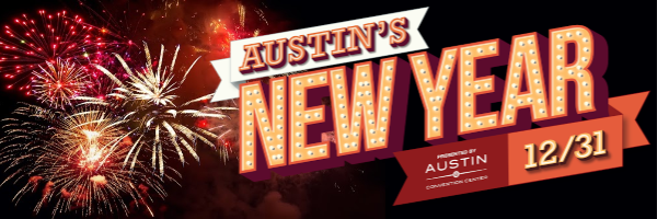 Austin's New Year Image Banner