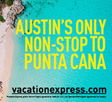 Austin's Only Non-Stop to Punta Cana - Vacation Express
