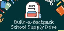 Build-a-Backpack School Supply Drive image