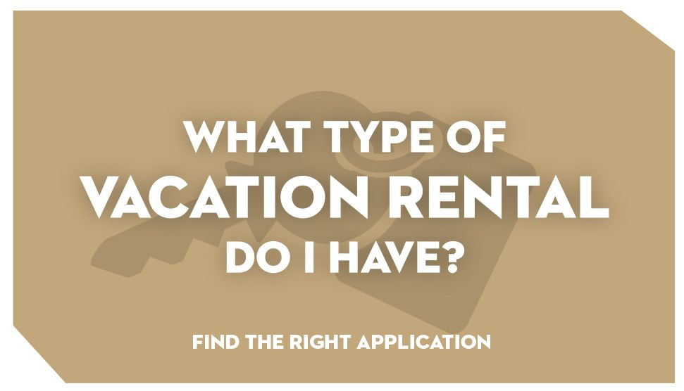 What Type of Vacation Rental Do I Have?