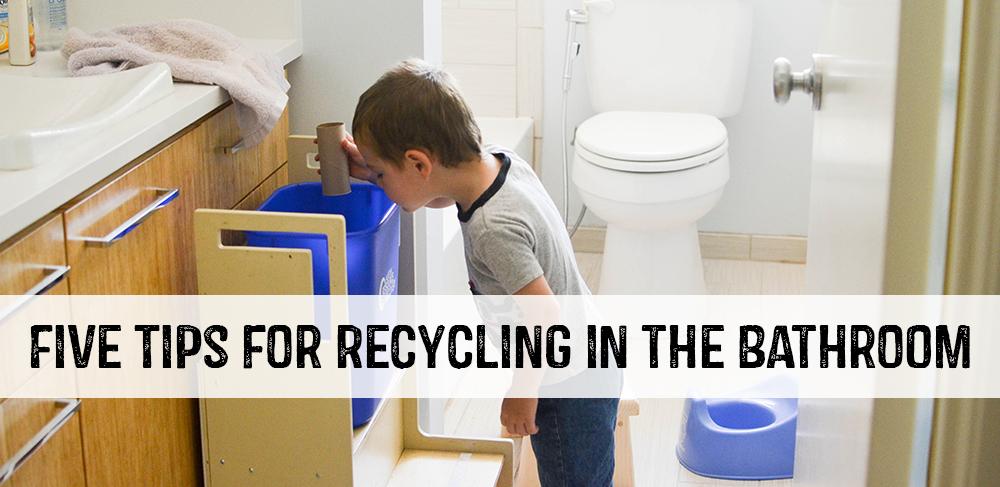 Enjoyable Five Tips For Recycling In The Bathroom Austintexas Gov Evergreenethics Interior Chair Design Evergreenethicsorg