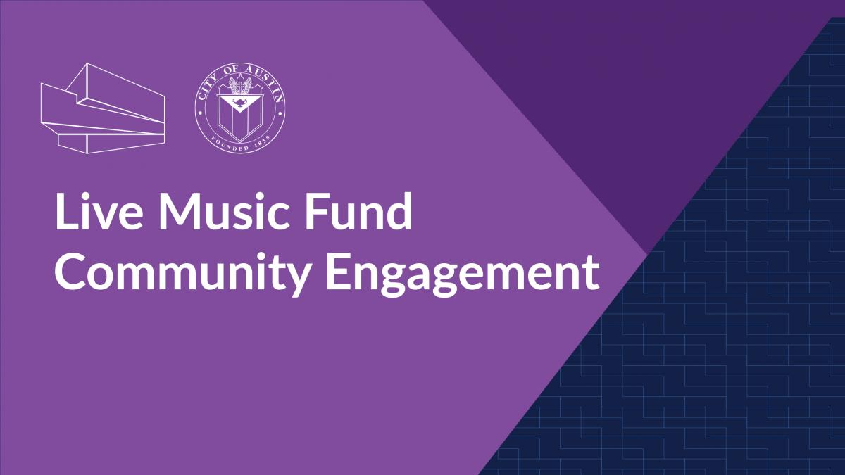 Live Music Fund Community Engagement Graphic