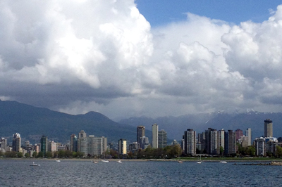photo of Vancouver skyline by SaulPaul