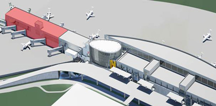 Rendering of Terminal Expansion Project