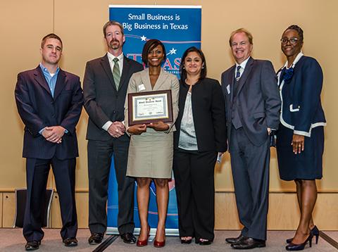 Texas Small Business Award winner