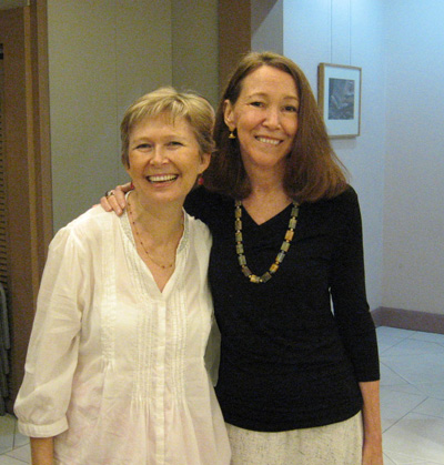 Louise Truslow and Judy Jensen