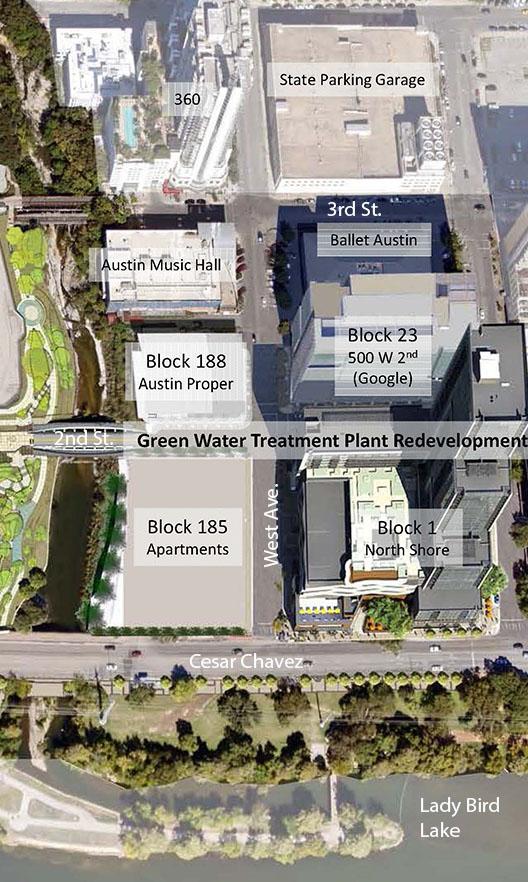 City Of Austin Development Map on