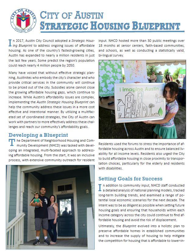 Austin housing plan housing austintexas strategic housing blueprint overview malvernweather Images